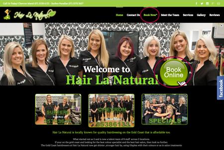Online bookings example 1